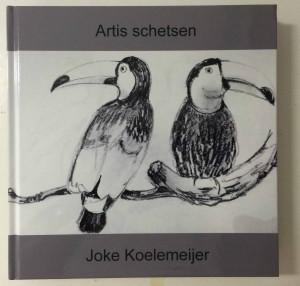 boek artisschetsen op de foto verkleind