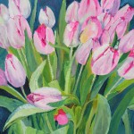 tulpen in acryl